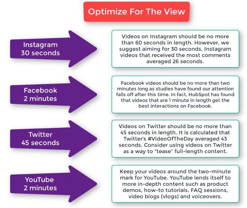 Video platforms influence your video briefs