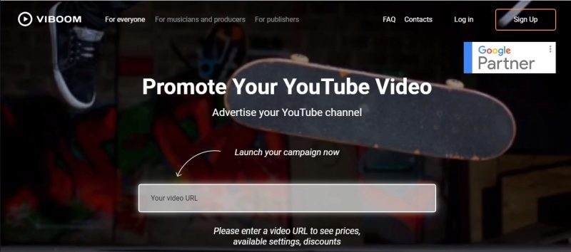Promote YouTube videos with Viboom